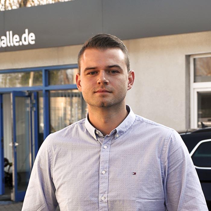 Betriebsleiter Karsten Seek Antriebstechnik Halle GmbH